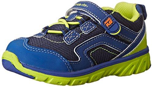 Stride Rite Made 2 Play Baby Jake Sneaker (Toddler),Navy/Green,6 W US Toddler ()