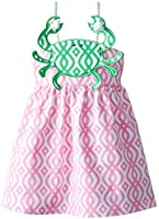 Mud Pie Little Girls' Crab Rope Dress
