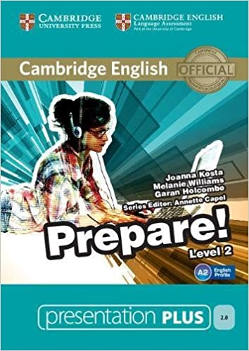amazon cambridge english prepare level 2 presentation plus dvd