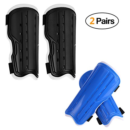 ActionEliters Youth Soccer Shin Pad Shin Guards,Lightweight and Breathable Child Calf Protective...