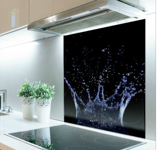 Digital Print Glass Splashback Heat Resistant Toughened 286 (60cm x 60cm) Poland