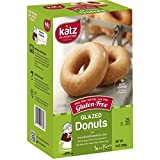 Katz Gluten Free Glazed Donuts | Dairy, Nut, Soy and Gluten Free | Kosher (3 Packs of 6 Donuts, 14 Ounce Each)