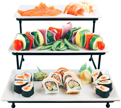 Review Food Serving Tray Set: