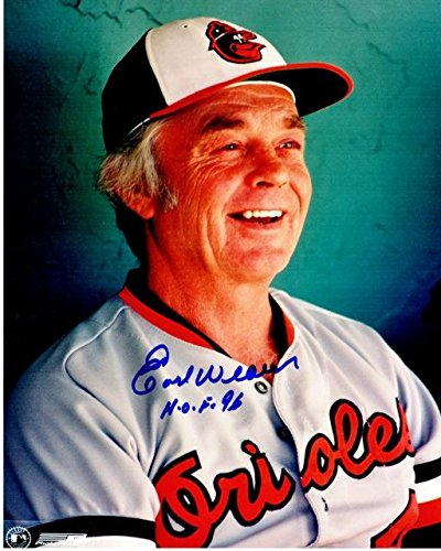 Earl Weaver Photo - Earl Weaver Signed Photo - 8x10 Deceased 2013 - PSA/DNA Certified - Autographed MLB Photos