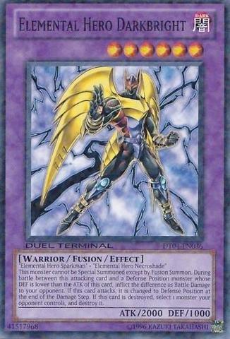 Yu-Gi-Oh! - Elemental Hero Darkbright (DT04-EN036) - Duel Terminal 4 - 1st Edition - Common