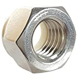 1/4-20 Nylon Insert Hex Lock Nuts, Stainless Steel