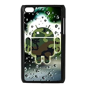 Classic Case Robot pattern design For Ipod Touch 4 Phone Case