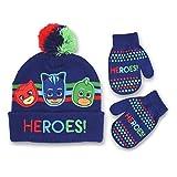 "Toddler Boys' PJ Masks ""HEROS!"" Winter Hat and"