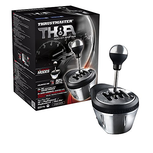 Thrustmaster   TH8A Add-On Gearbox Shifter for PC, PS3, PS4 and Xbox One by ThrustMaster