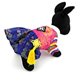 SELMAI Ethnic Dog Costume Korean Traditional Knot