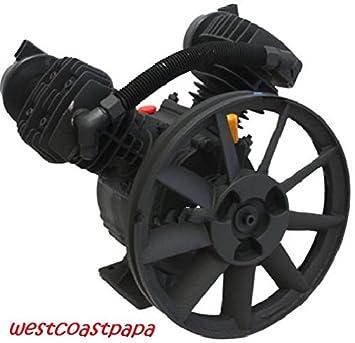 Bomba de Compresor de aire 3HP para automóvil motor: Amazon.es: Coche y moto