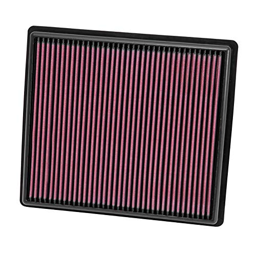 K&N engine air filter, washable and reusable:  2013-2019 Honda/Acura L4 (Accord, Spirior, TLX) 33-2498