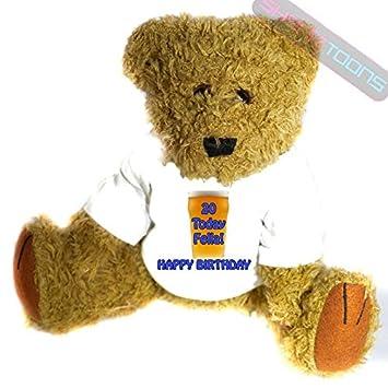 Para hombre XX XX regalo de cumpleaños oso de peluche para hombre, Funny – Present