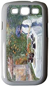 Rikki KnightTM Childe Hassam Art The Terre-Cuits Tea Set - White Hard Rubber TPU Case Cover for Samsung? Galaxy i9300 Galaxy S3 by Maris's Diary