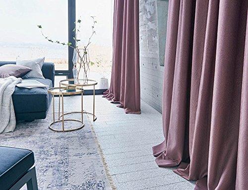 アスワン 卓越した美しさのあるデザイン カーテン1.5倍ヒダ E6009 幅:100cm ×丈:210cm (2枚組)オーダーカーテン 210  B078C713KX