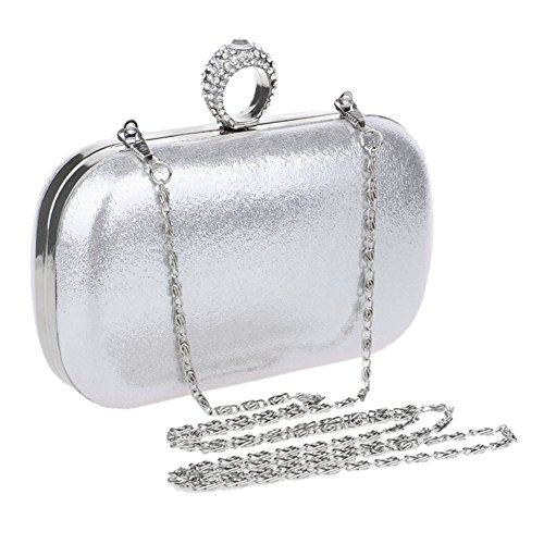 Shoulder Clutch Dress Black Party Wedding Chain MSFS Handbag Bags Out Women's Evening txwqqA8H