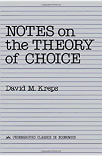 A course in game theory the mit press martin j osborne ariel notes on the theory of choice underground classics in economics fandeluxe Image collections