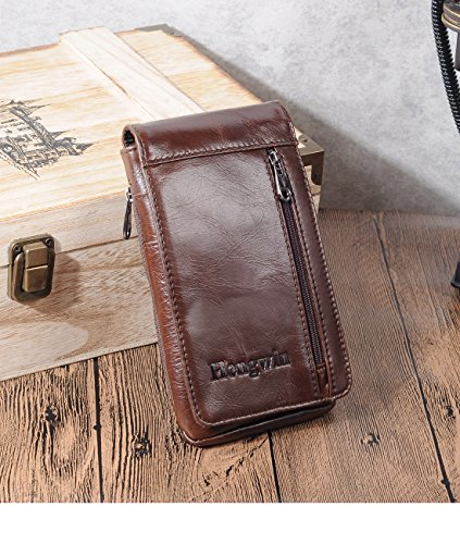 Iphone 7 Plus Belt Clip Pouch Genuine Leather Vertical