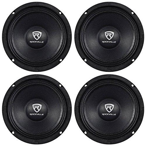 Spl Car Audio - Rockville (4) RM68PRO 6.5