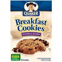 6-Pack Quaker Breakfast Cookies, 6-1.69oz Cookies Per Box Deals