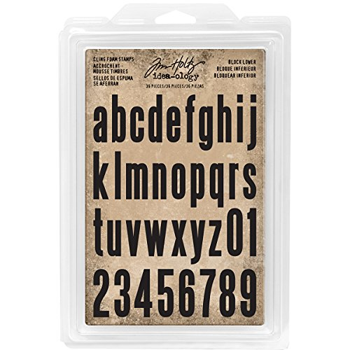 Tim Holtz Idea-Ology Block Lower TH Ideaology Stamp Cling Foam