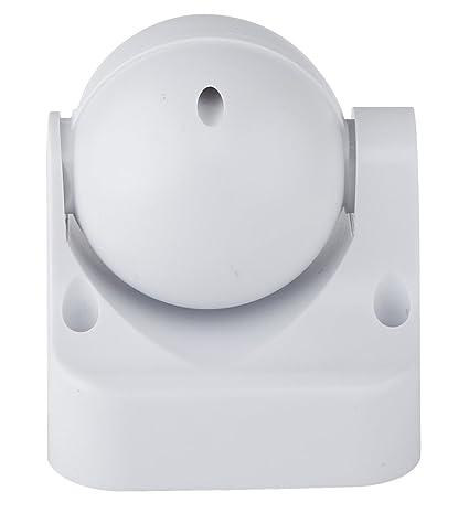 Electraline 58412 - Sensor detector de presencia de movimiento, interruptor crepuscular y timer IP44, color blanco: Amazon.es: Bricolaje y herramientas