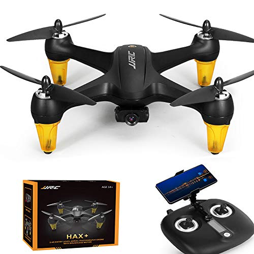 2.4G RC Drone JJRC X3P with 1080P HD Camera 120° Wide Angle Lens and GPS Return Home Quadcopter with Brushless Motor Universal USB Charging Altitude Hold Auto Follow Good for Tracking and Photography
