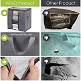 VENO 3 Pack Tall Extra Large Clothes Storage Bag