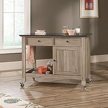Amazon.Com - Sauder Mobile Kitchen Island - Kitchen Islands & Carts