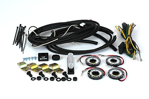 Rock The Light 2008 - KC HiLiTES 91020 Cyclone LED Rock Kit-Clear 4-Light System for Jeep JK 07-16