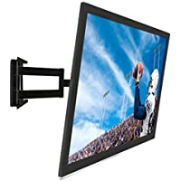 Mount-It! Full Motion Corner TV Wall Mount, Low-Profile Slim Articulating Design For 50, 55, 60, 65, 70, 75 and 80 Inch TVs, 175 Lbs Capacity