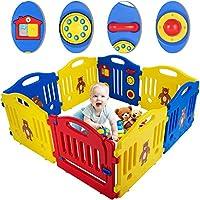 Baby Playpen Kids Safety Play Center Yard Home Indoor Outdoor Pen