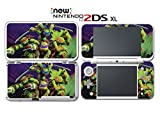 Teenage Mutant Ninja Turtles TMNT Mike Don Video Game Vinyl Decal Skin Sticker Cover for Nintendo New 2DS XL System Console