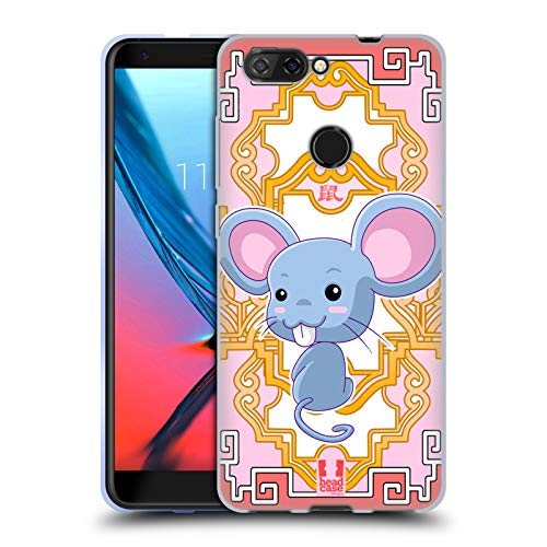 Head Case Designs Rat Zodiac Animals Soft Gel Case for ZTE Blade V9 - Rat Vita