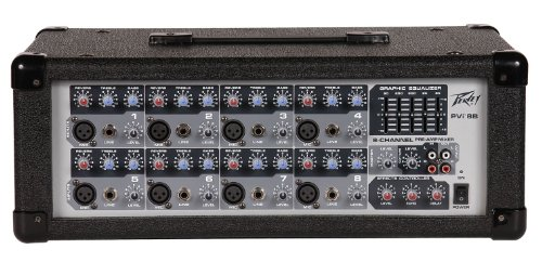 Peavey Pvi 8B 8 Channel Powered Mixer by Peavey