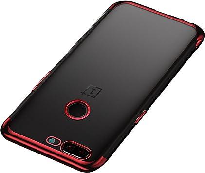 BLUGUL Funda OnePlus 5T, Electroplating Coloring, Ultra Fina ...