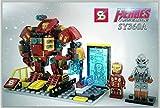 NEW big Minifigure Ultro VS HulkBuster Building Building Block Toy