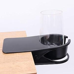 VSILE Beverage Cup Holder, Tea and Coffee Cup Holder, Tea and Drinking Cup Holder, Water Cup, Coffee Cup, Beverage, Etc. (Black)