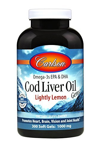 Amazon Com Carlson Norwegian Cod Liver Oil Lemon 500 Ml