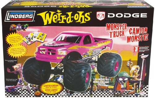 lifted plastic model truck kits - 1