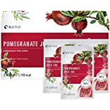 Boto Superfood Pomegranate Extract Juice - 100% Pomegranate , 30 pouches, 80ml.