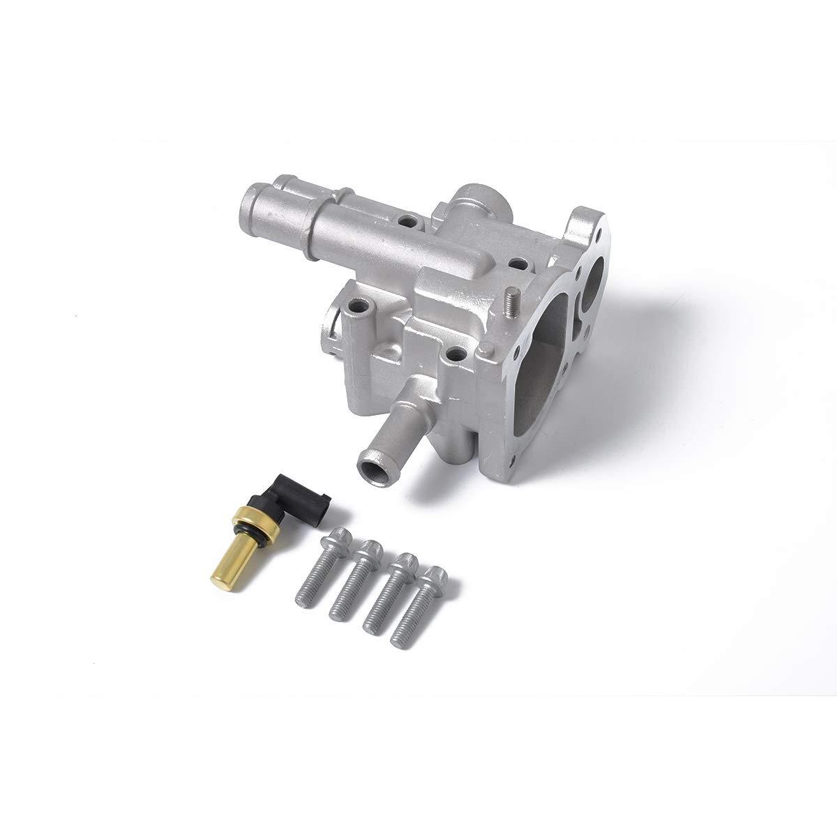 MeterMall Cubierta de Aluminio para termostato de Coche + Sensor para Chevrolet Cruze Opel: Amazon.es: Coche y moto