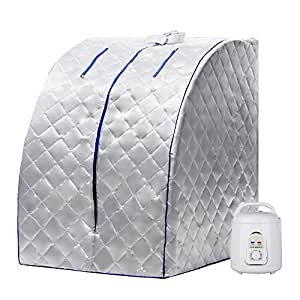 BATHWA Indoor Portable Steam Sauna Keep Fit Healthy Steam Sauna SPA At Home