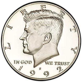 1995-S Silver Proof Kennedy Half Dollar Gem Proof Deep Cameo