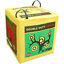 Morrell 131  Double Duty 450 FPS Field Point Archery Bag Target - for Crossbows, Compounds, and Airbows