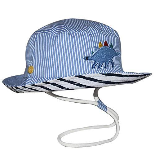 - Baby Sun Hat Girls -Toddler Summer UPF 50+ Protection Wide Strap Bucket Adjustable Kids Beach Swim Hat 18.8