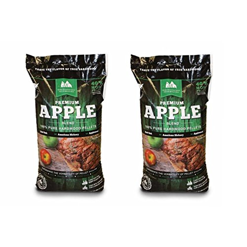 Mountain Apple (Green Mountain Grills Premium Apple Grilling Pellets (2 Pack))