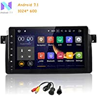 MCWAUTO for BMW E46 3er 318 320 325 M3 Rover75 MG ZT Android 7.1 Quad Core 9 Inch HD Digital Multi Touch Screen Car Stereo Radio Player GPS OBD2