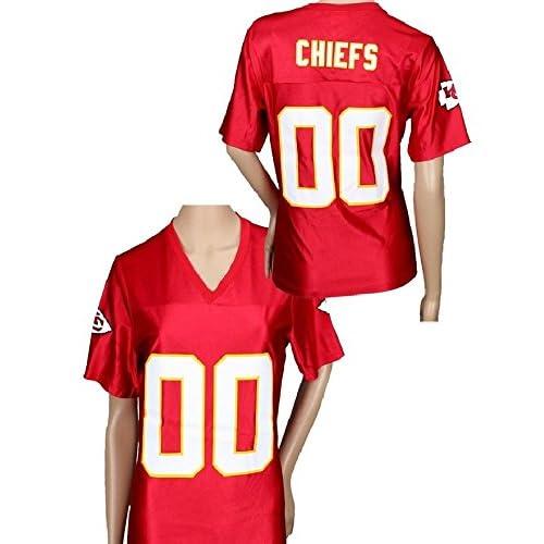 d10ab3e251abc Kansas City Chiefs NFL Womens Team Replica Jersey, Red hot sale ...