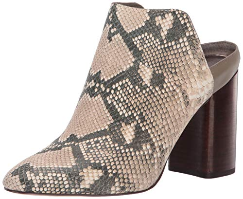 Dolce Vita Women's RENLY Mule, Snake Print Embossed Leather, 6.5 M US